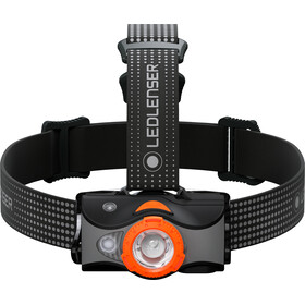 Led Lenser MH7 Stirnlampe black/orange